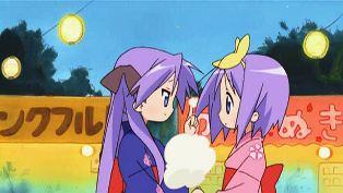 Kagami and Tsukasa
